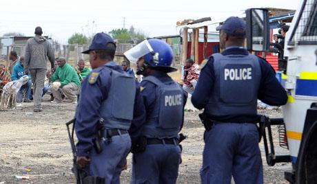 La criminalité est en hausse en Afrique du Sud.