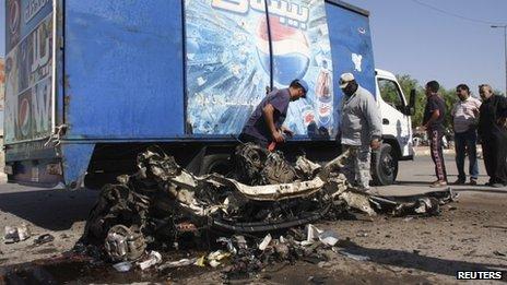 Les bombes ont frappé principalement les districts chiites.