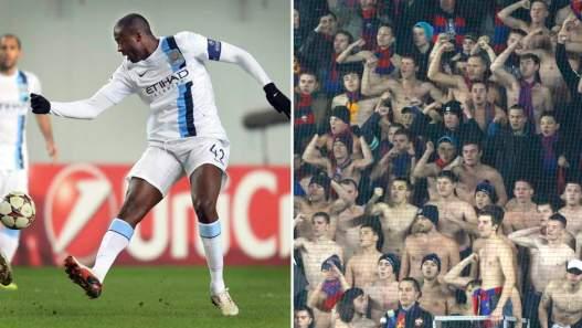 CSKA nier leurs fans ont été impliqués dans un comportement raciste envers Touré