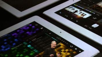 Tim Cook dévoile de nouvelles versions de l'iPad