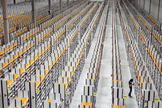 Le centre logistique d'Amazon de Saran.