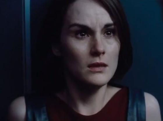 Michelle Dockery joue dans le film Non-stop