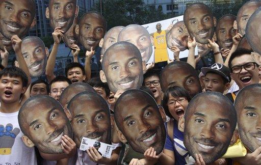 La Kobe Bryant Fever chinoise