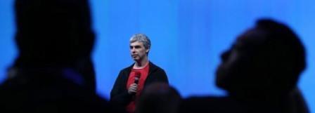 Larry Page, fondateur et patron de Google