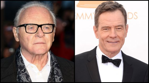Anthony Hopkins et Bryan Cranston