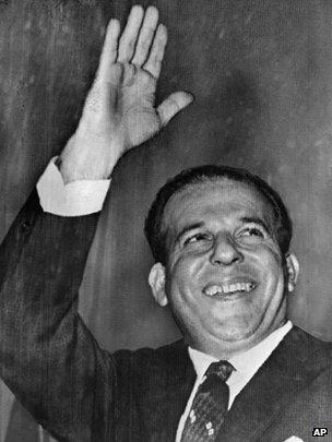 Joao Goulart, surnommé Jango, a été renversé par un coup d'Etat sans effusion de sang en 1964