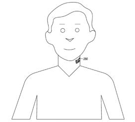 Motorola dépose le brevet d'un microphone en forme de tatouage électronique