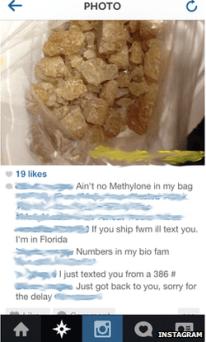 La plupart du trafic de drogue sur Instagram semble être basé aux Etats-Unis