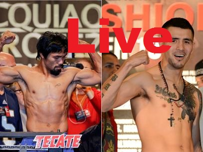 Manny Pacquiao-Brandon Rios-Streaming