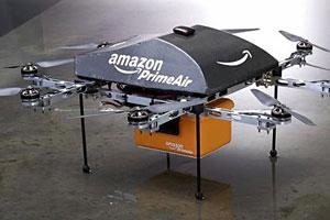 Amazon travaille sur un service de livraison par le biais de drones