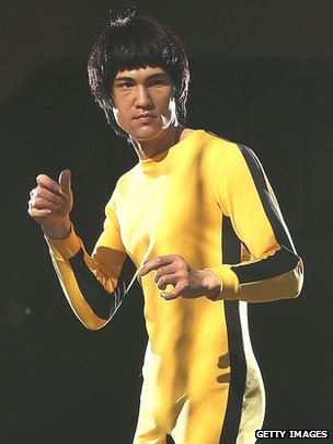 Bruce Lee a récemment été immortalisé dans la cire