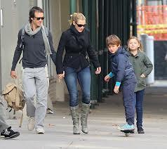 Mia et Joe les deux enfants de Kate Winslet et le troisième en route