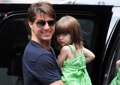 Tom Cruise accusé à tort d'avoir abandonner Suri