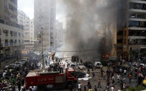 Un attentat à la voiture piégée au coeur de Beyrouth