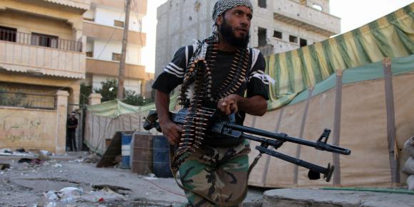 La guerre en Syrie déchire le pays
