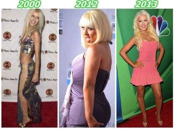 Christina Aguilera: 5 tailles en moins