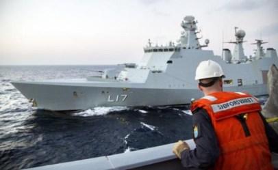 Déjà neuf conteneurs seront détruits en mer