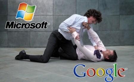 Microsoft contre-attaque Google en l'imitant