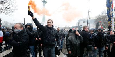 Jour de colère à Paris