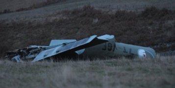 l'avion aurait explosé en vol