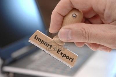 les importations et exportations sont en chute libre