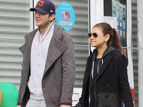 Ashton et Mila seront bientôt parents