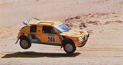 Peugeot revient au Dakar.