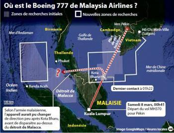 disparition du boeing 777