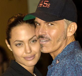 Angelina Jolie et son ex mari Billy Bob Thornton