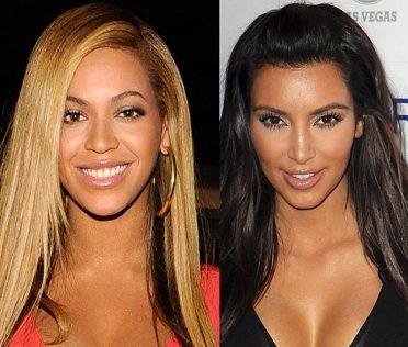 Beyoncé et Kim Kardashian
