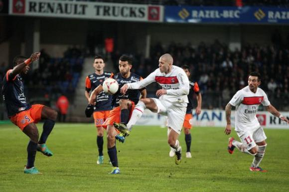 Match PSG - Montpellier en direct