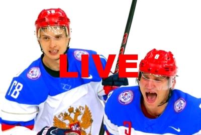 Russie Finlande Hockey