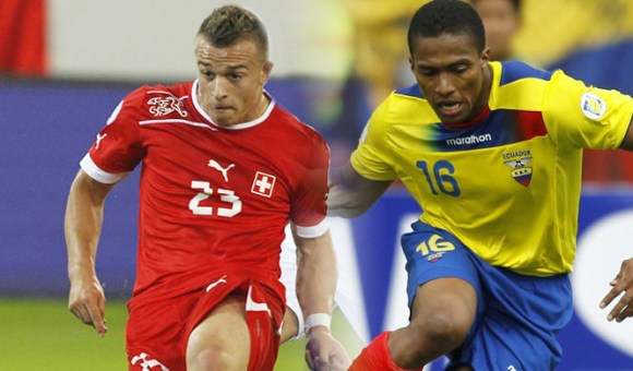 Match Suisse Equateur en direct tv et streaming sur Internet