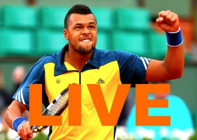 Match Tsonga Djokovic en Direct Streaming Roland Garros