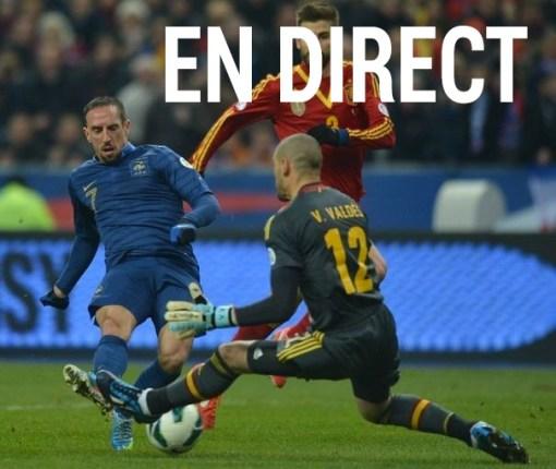 Football: Retransmission du match France Espagne en direct et Live Streaming sur Internet + Résumé vidéo et replay