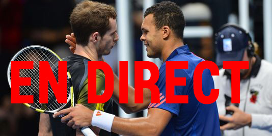 Retransmission du match de Tennis Tsonga Murray en direct + streaming sur Internet