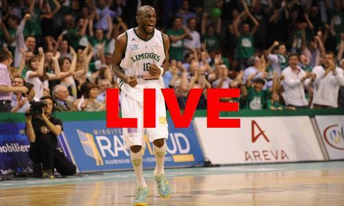 Match CSP Limoges Zagreb 2014 en direct vidéo et voir Euroligue basket en streaming live
