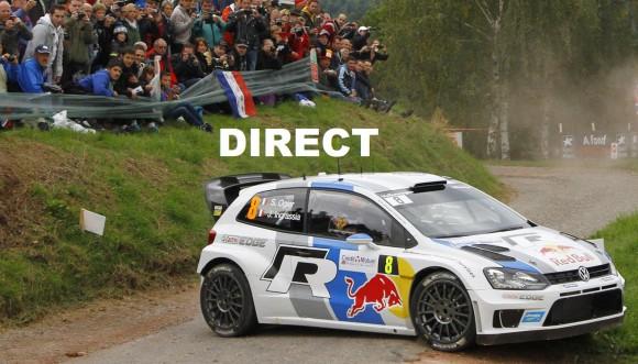 WRC Rallye d'Espagne 2014 en direct live TV et retransmission course en streaming vidéo