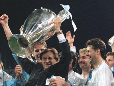 L'OM et les différents entraîneurs de l'Olympique de Marseille
