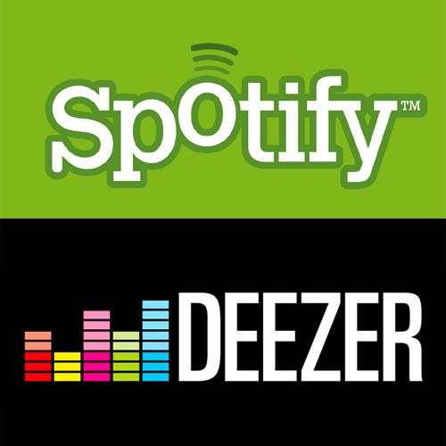 La musique en streaming sur Internet avec Deezer et Spotify