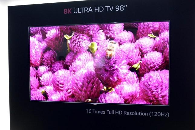 Les nouveaux téléviseurs 8K à venir en 2016