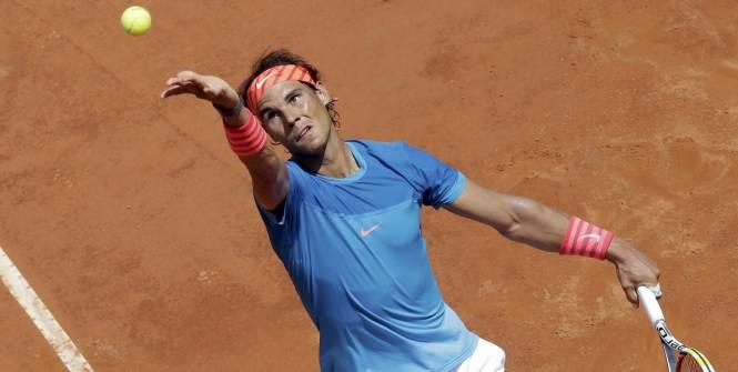 La lutte se poursuit entre Novak Djokovic et Rafael Nadal au tournoi de tennis de Rome