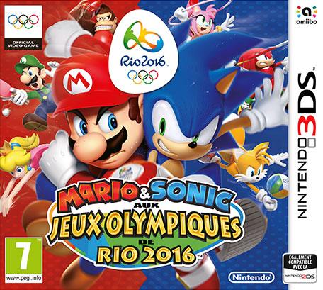 Mario et Sonic aux Jeux olympiques de Rio 2016 sur Nintendo 3DS