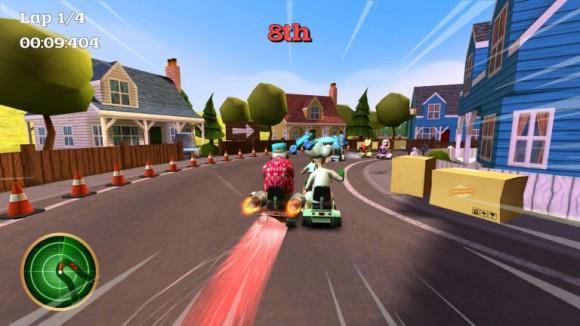 Sortit sur PS4 et Xbox One, Coffin Dodgers est un Mario Kart like plutôt convainquant
