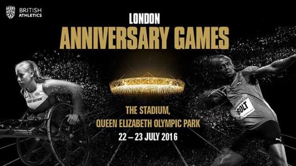 Le retour des plus grands athlètes pour le London Anniversary Games et la dernière étape avant Rio 2016