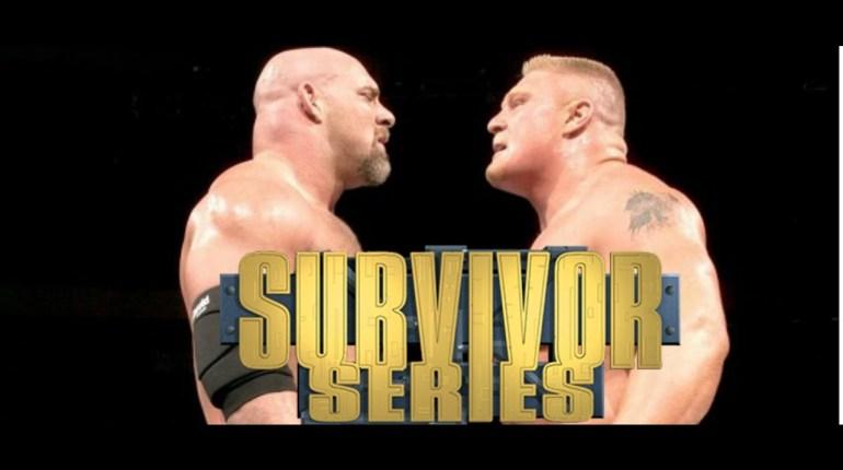 Voir le PPV Survivor Series de la WWE : Résultat combat Goldberg Lesnar, résumé vidéo Main Event