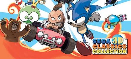 Test Sega 3D Classics Collection : Du rétro inédit sur Nintendo 3DS