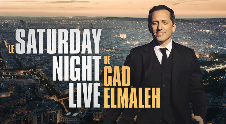 Voir le Saturday Night Live en direct sur M6 : Replay vidéo Gad Elmaleh