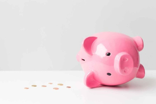 Economies Tirelire Finance Argent Cochon Rose