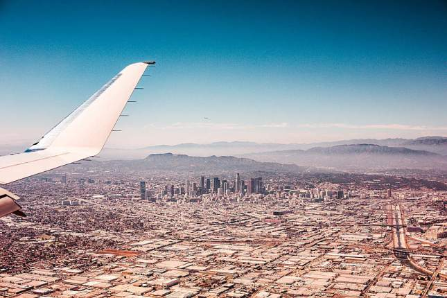 Los Angeles Avion Travel Etats Unis USA